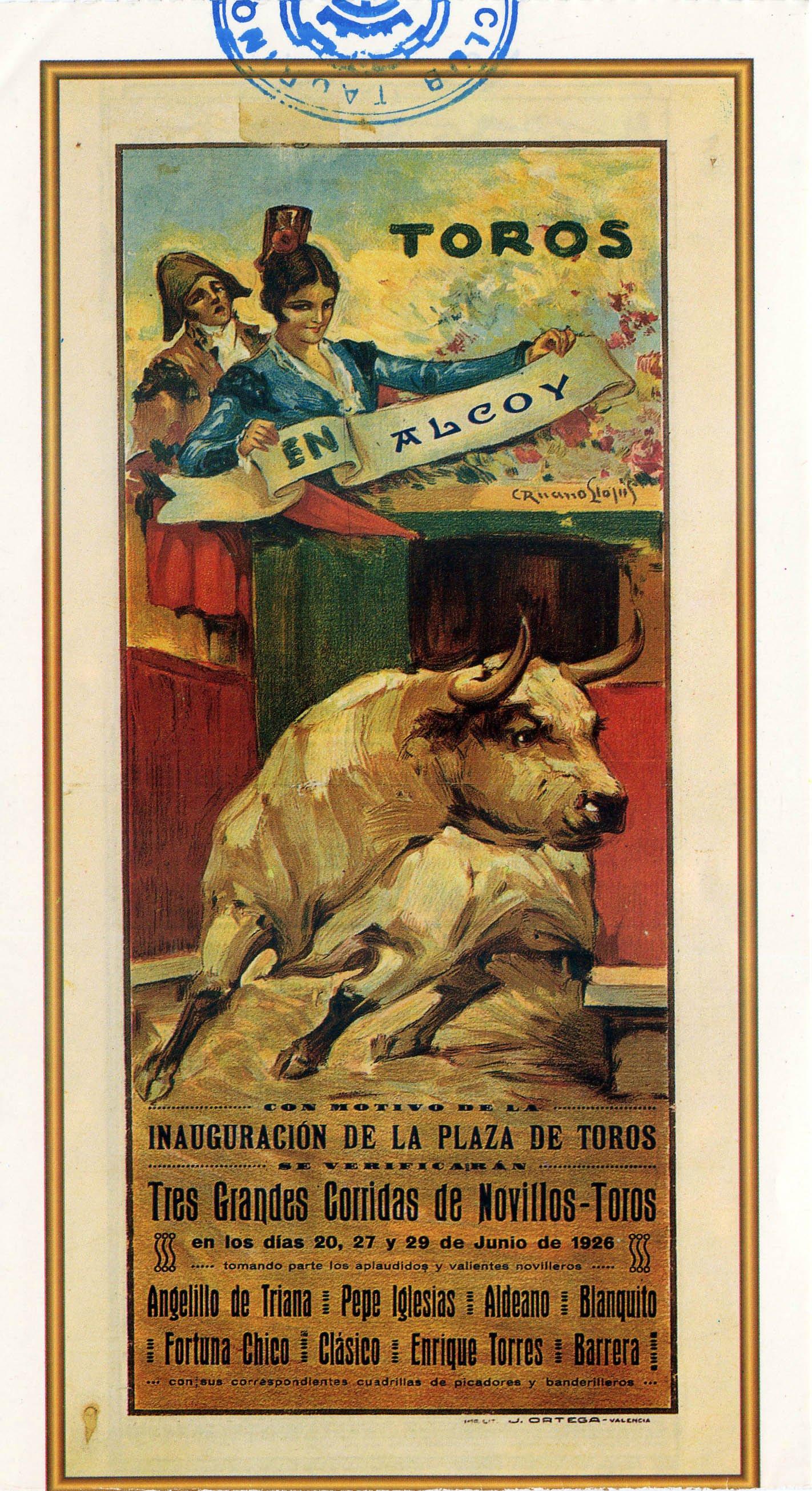 cartel primera corrida
