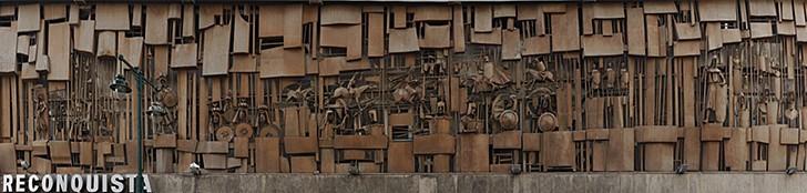 El Mural de la Reconquista de José Gonzalvo